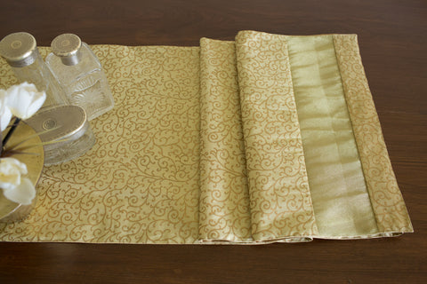 Woven Tissue Runner (Natural) | Jaal Print