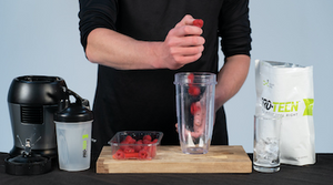 30 Second PRO-TEEN® Smoothies: Strawberry and Raspberry