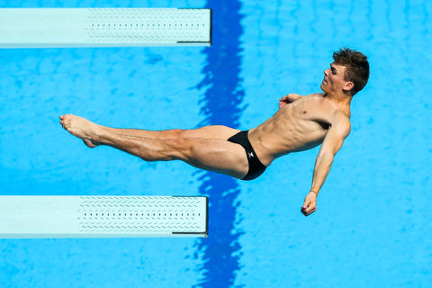 Ross Haslam TeamGB Diving
