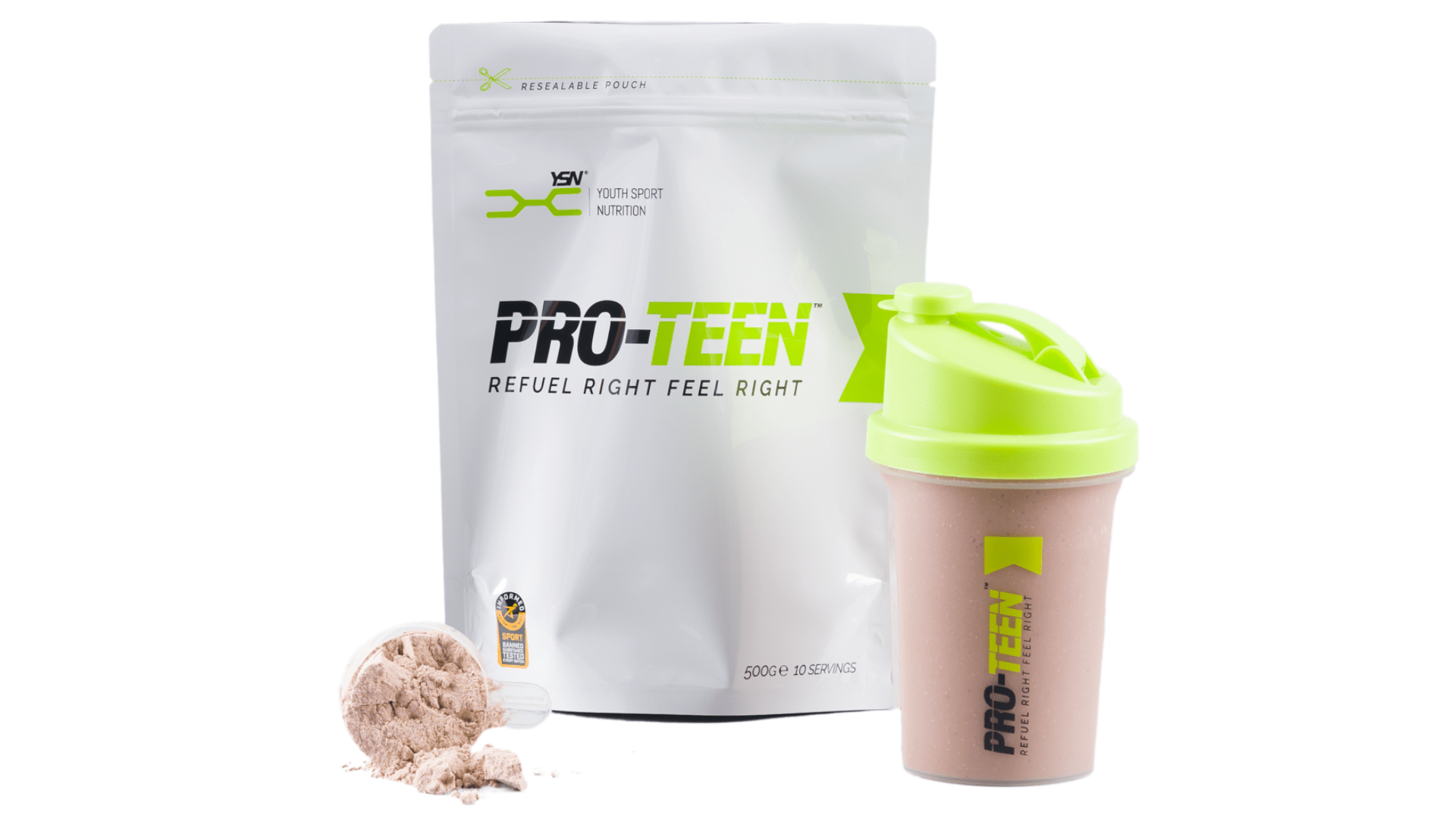 PRO-TEEN - Fortified recovery shake for young athletes in sport