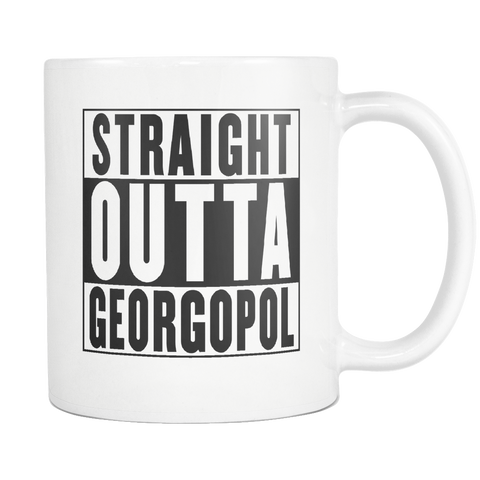 Straight Outta Georgopol Mug