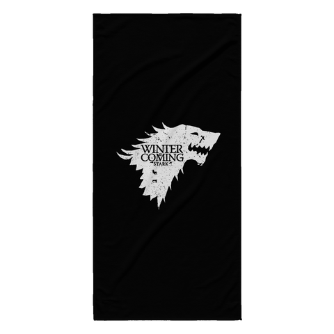 Winter is Coming Beach Towel