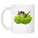 Where's Waldo in a Bush PUBG Mug