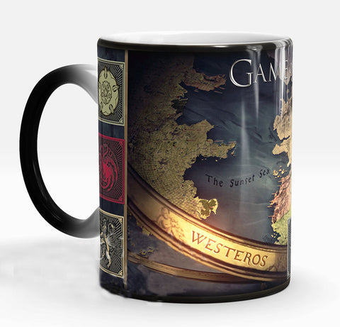 Game of Thrones Westeros Mug