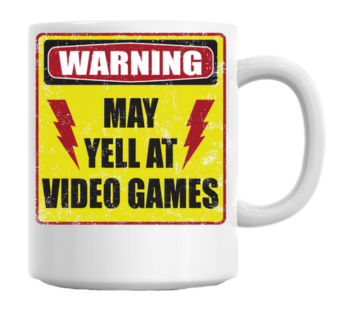 Gamer Warning Mug