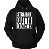 Straight Outta Rozhok Hoodie