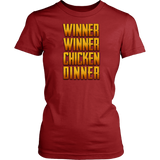 Winner Winner Chicken Dinner Fancy Tee
