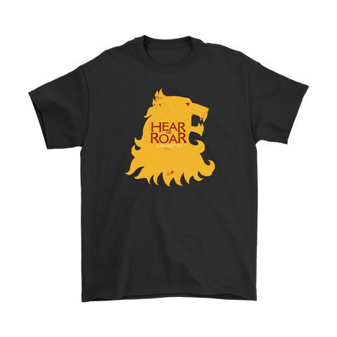 """Hear me Roar"" House Lannister Tee"