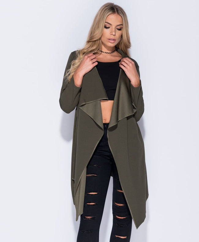 Issy - Tie Waterfall Jacket