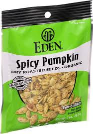 Eden Spicy Pumpkin Seeds
