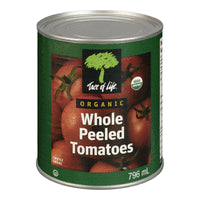 org whole peeled tomatoes 796ml
