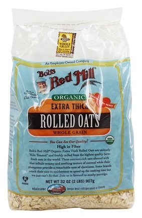 Bob's Organic Thick Rolled Oats 907g