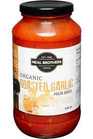 ROASTED GARLIC  neal brother pasta sauce
