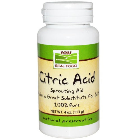 NOW CITRIC ACID 113g
