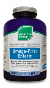 Omega First Enteric Coated 120 gel caps
