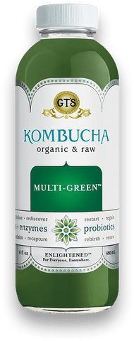 GT Kombucha Multi-Green