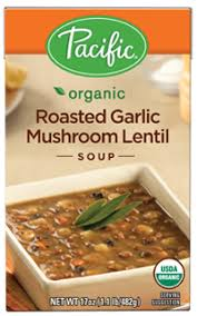 PACIFIC ROASTED GARLIC MUSHROOM LENTIL