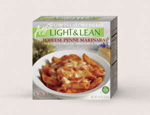 LIGHT & LEAN 3 CHEESE PENNE MARINARA