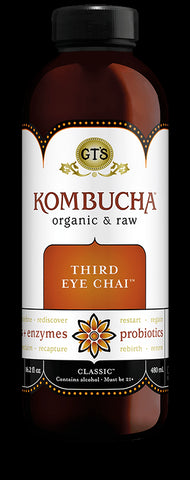 GT Kombucha Third Eye Chai