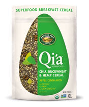 Qi'a Cereal Apple Cinnamon 225g
