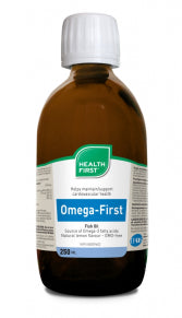 Omega-First Triple Fish Oil Liquid - Lemon  250 ml