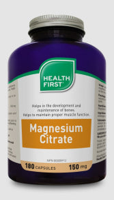 MAGNESIUM CITRATE 150 MG-180 CAPS