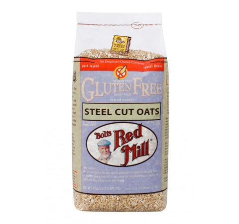 BOBS RED MILL GF STEEL CUT OATS