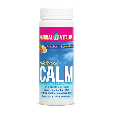 NAT CALM-RASPBERRY LEMON 8 OZ