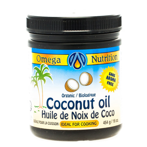 OMEGA VIRGIN COCONUT OIL 454G