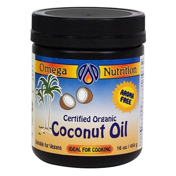 OMEGA COOKING COCONUT OIL 454G