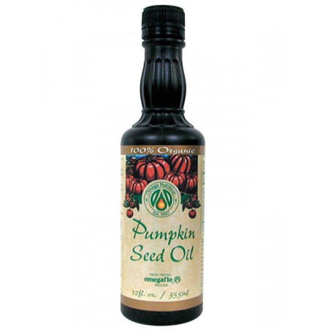 OMEGA ORGANIC PUMPKIN SEED OIL 355ML