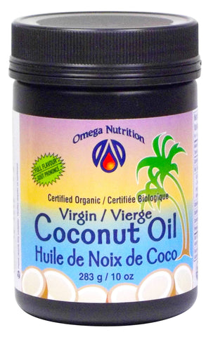 OMEGA VIRGIN COCONUT OIL 283G