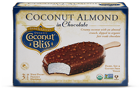 Coconut Bliss Coconut Almond Chocolate Bars