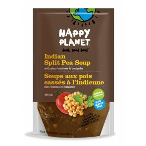 HAPPY PLANET SOUP ORG SOUTH IND SPLIT PEA 650ML