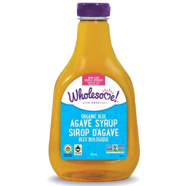 WHOLESOME ORGANIC BLUE AGAVE 900ml