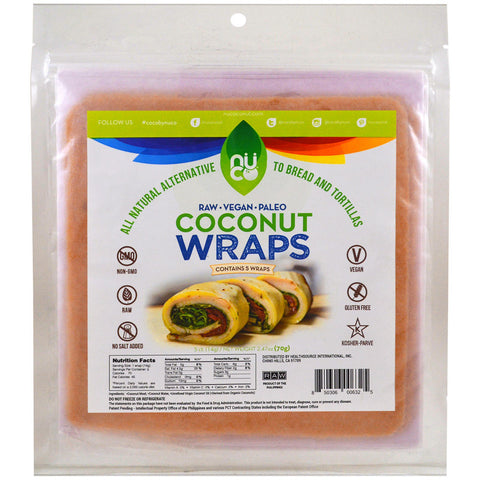 COCONUT WRAPS ORIGINAL 70G