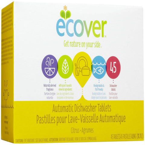 Ecover Citrus Dishwashing 45 tablets