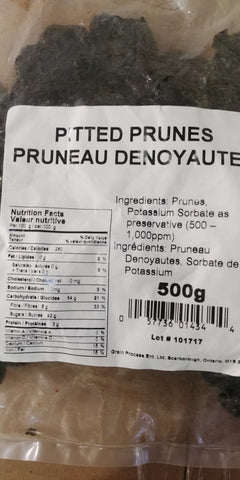 Pitted Prunes 500g