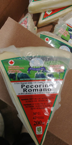 QUALITY SHEEP PECORINO ROMANO200g