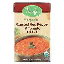 PACIFIC Roasted Red Pepper & Tomato Bisque