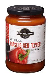 NEAL roasted red pepper nealbrother pasta sauce