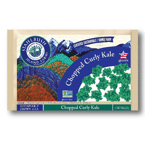 CHOPPED CURLY KALE