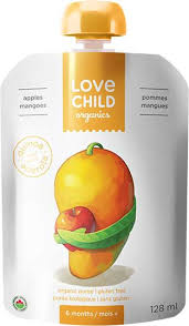Love Child Apple Mango 128ml