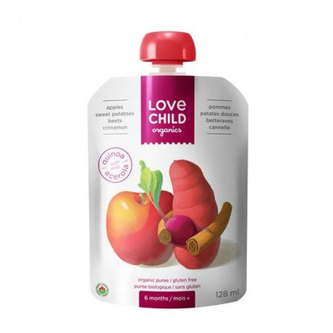Love Child Apple Sweet Potato Beet 128ml