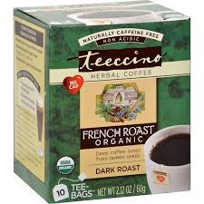Teecino French Roast Herbal Coffee 10 Tea Bags
