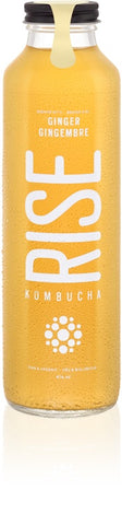 Rise Kombucha  414ml Ginger white tea