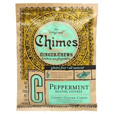 Chimes Ginger Chews Peppermint 141.8g