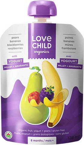 LOVE CHILD PEAR BAN BLACK BERRY RASP 128ML