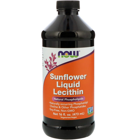 NOW Sunflower Lecithin 473ml