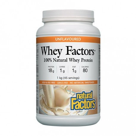 whey factors unflvoured 1 kg